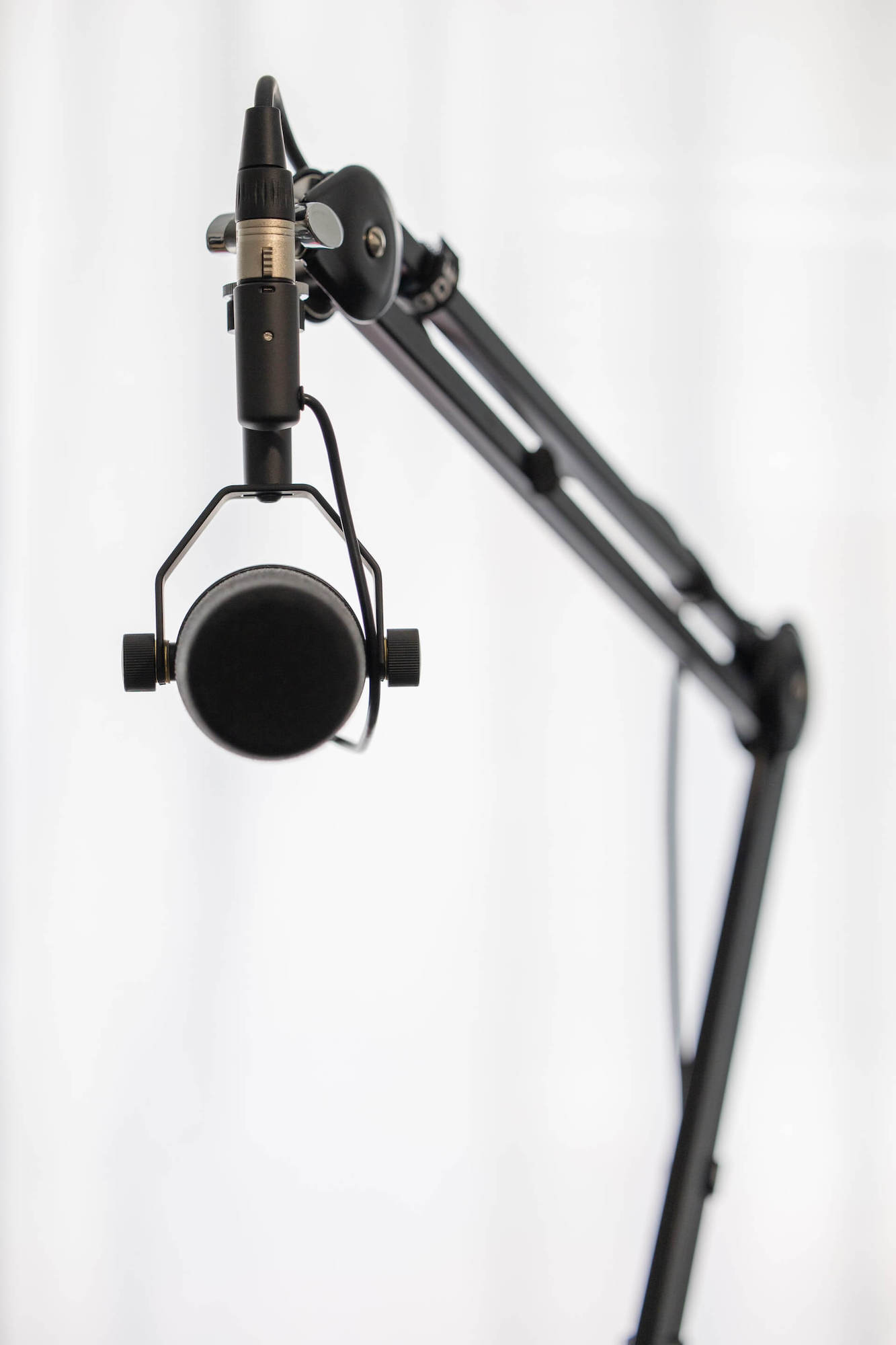 Podcast microphone stand