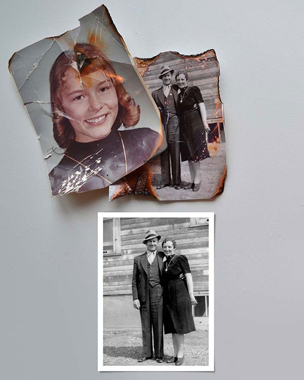 Photo Restorations - Color Services