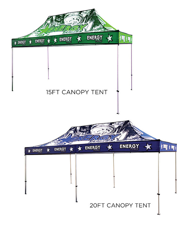 Custom Canopy Tents - Color Services