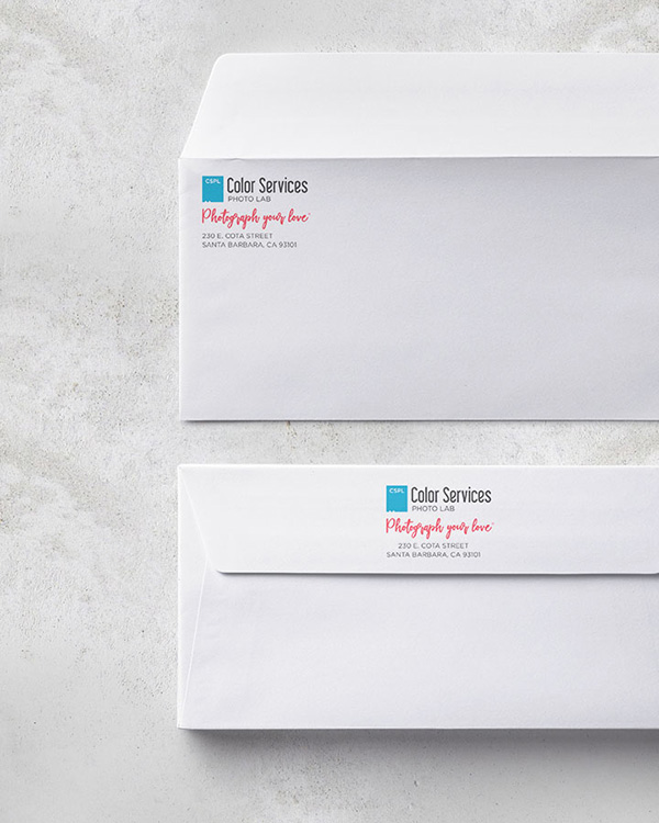 Envelope Printing - Color Services