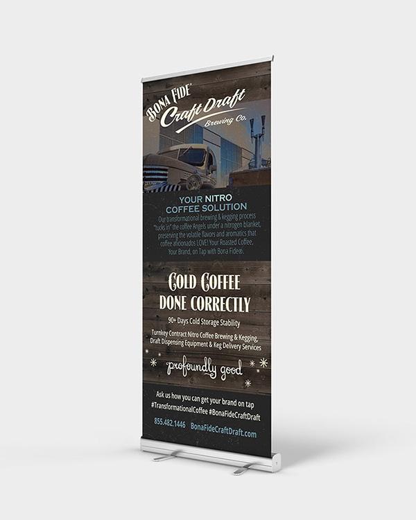 Retractable Banners - Color Services