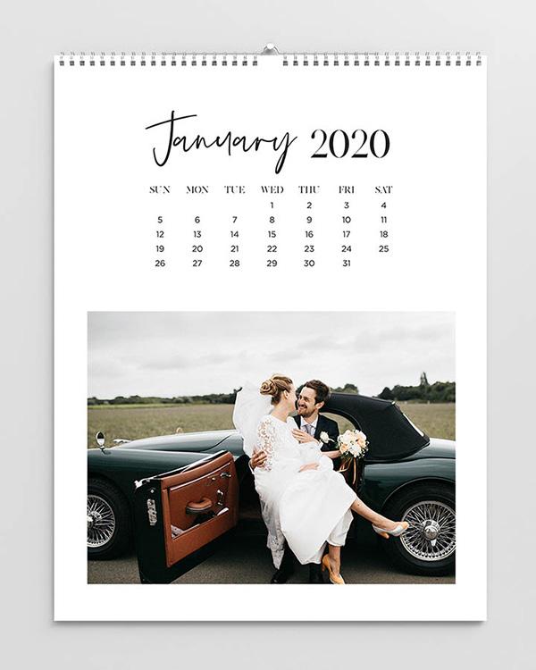 Top Bound 2020 Photo Calendars - Color Services