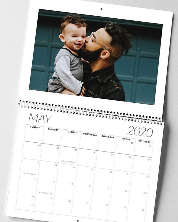 Center Bound 2020 Photo Calendars - Color Services