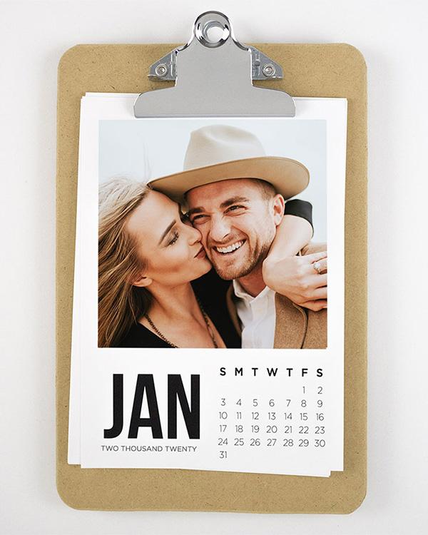 Clip-It 2020 Clipboard Photo Calendars - Color Services