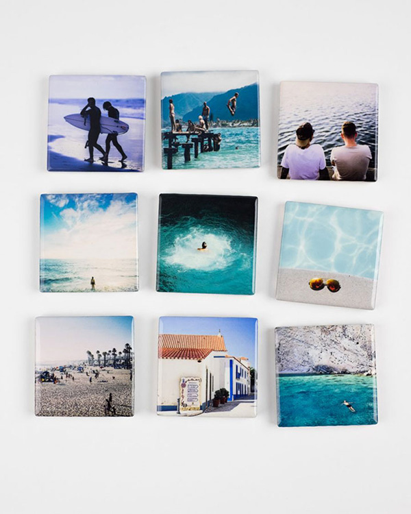 Customized Ceramic Photo Magnets - Color Services