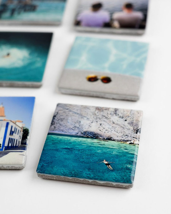 Detail View - Customized Ceramic Photo Magnets - Color Services