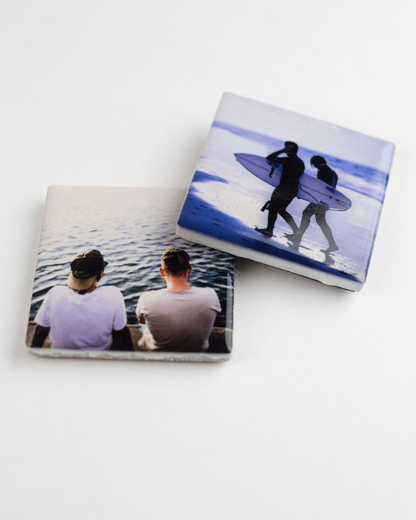 Ceramic Photo Magnets - Color Services