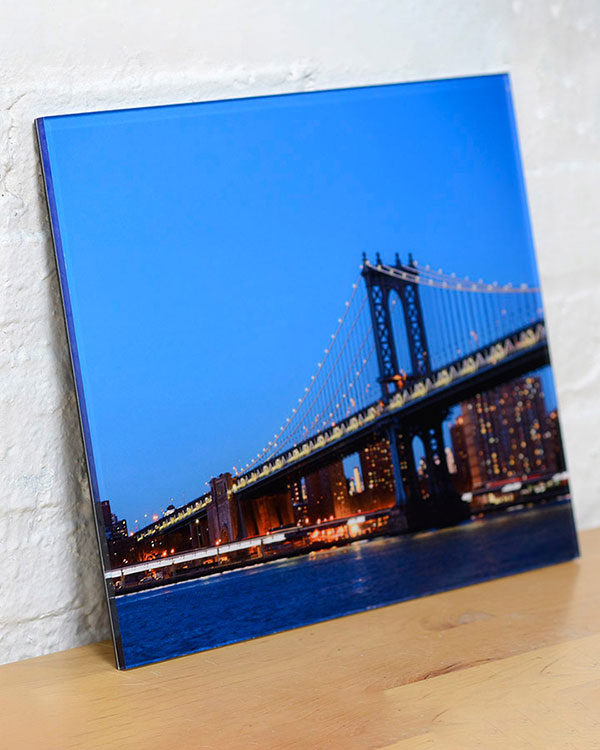 Acrylic Face Mounted Prints - Color Services