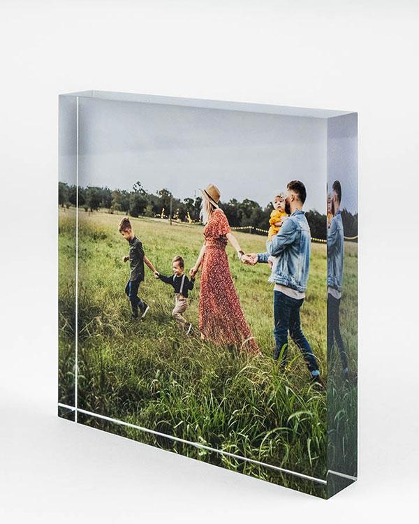 Acrylic Photo Blocks - Color Services - Santa Barbara