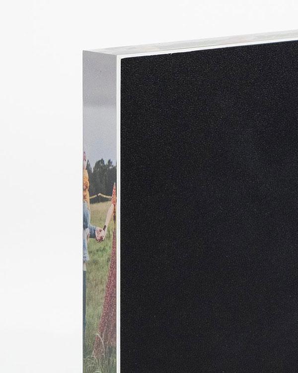 Back View - Acrylic Photo Blocks - Color Services - Santa Barbara