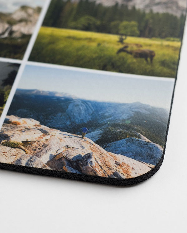 Photo Mousepads - Detail View - Color Services