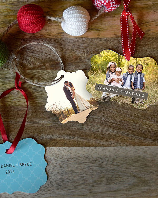 Customized Photo Ornaments - Color Services