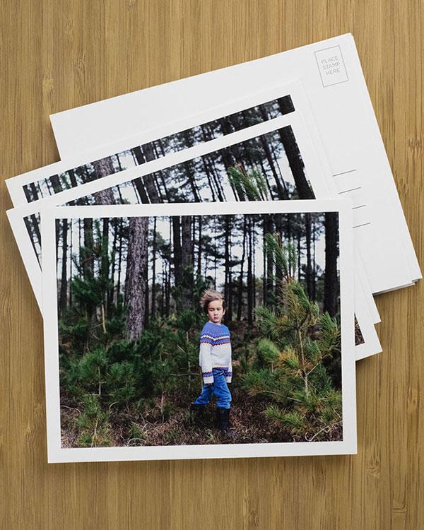 Photo Postcards - Color Services
