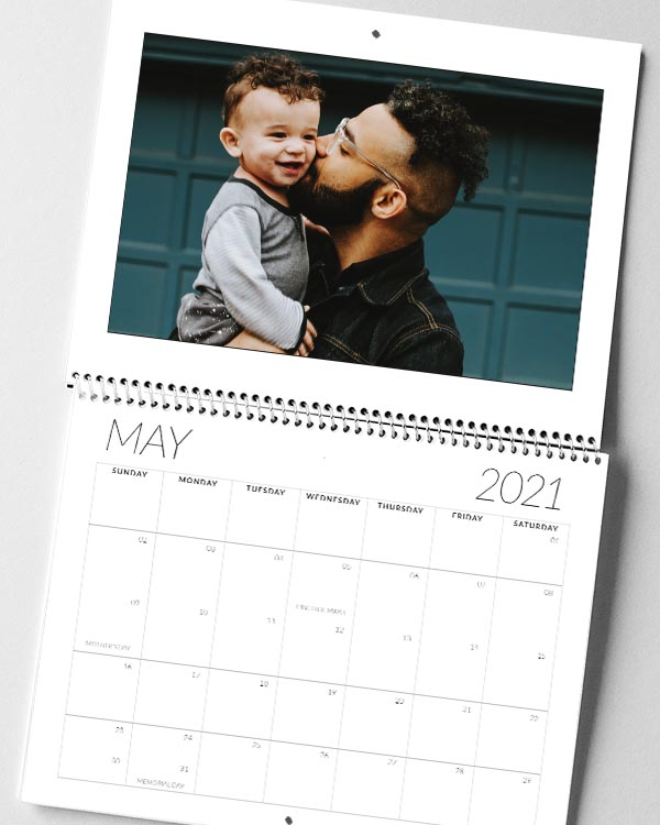 Center Bound 2021 Photo Calendars - Color Services