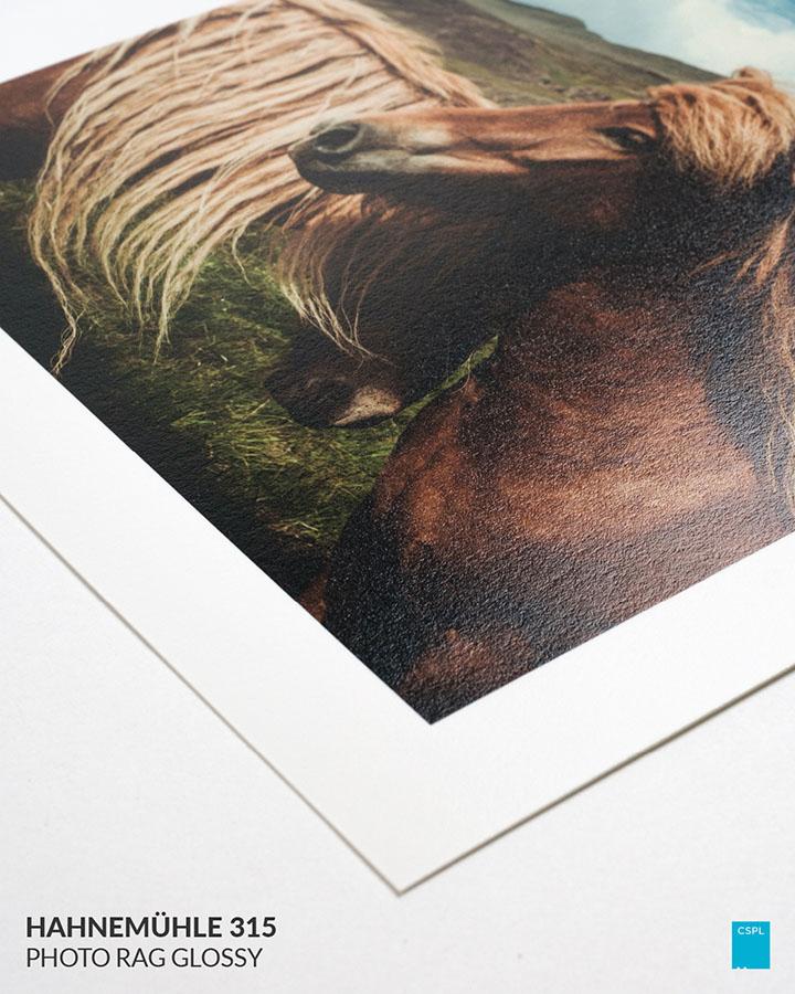 Hahnemühle 315 Photo Rag Glossy - FIne Art Prints - Color Services - Santa Barbara