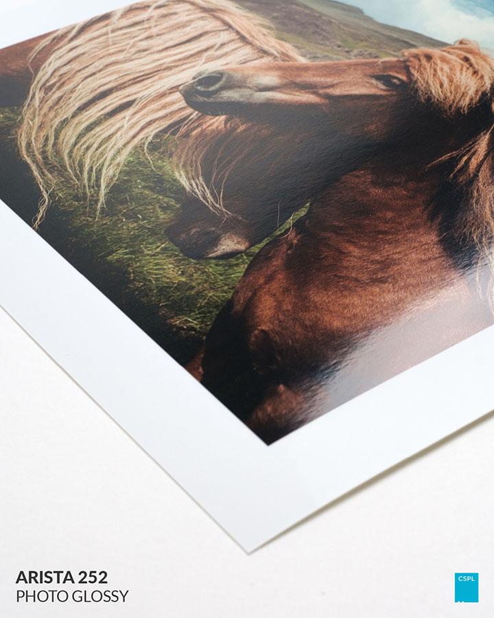 Fine Art Prints - Arista 252 Photo Glossy - Color Services Santa Barbara
