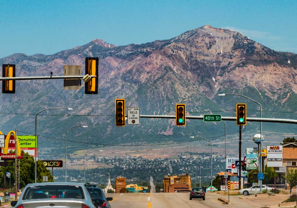 Traffic light detection image annotations