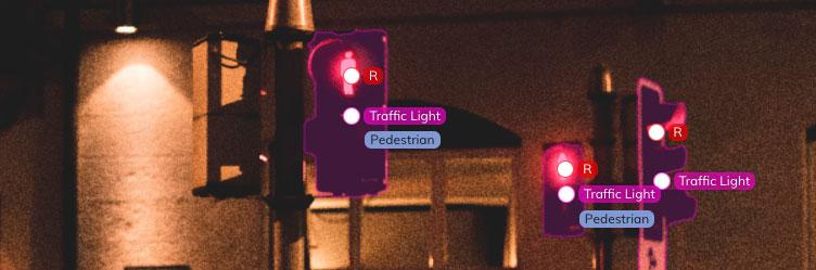 pedestrian traffic light labelling