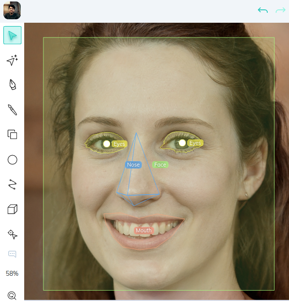 Body parts object detection with V7