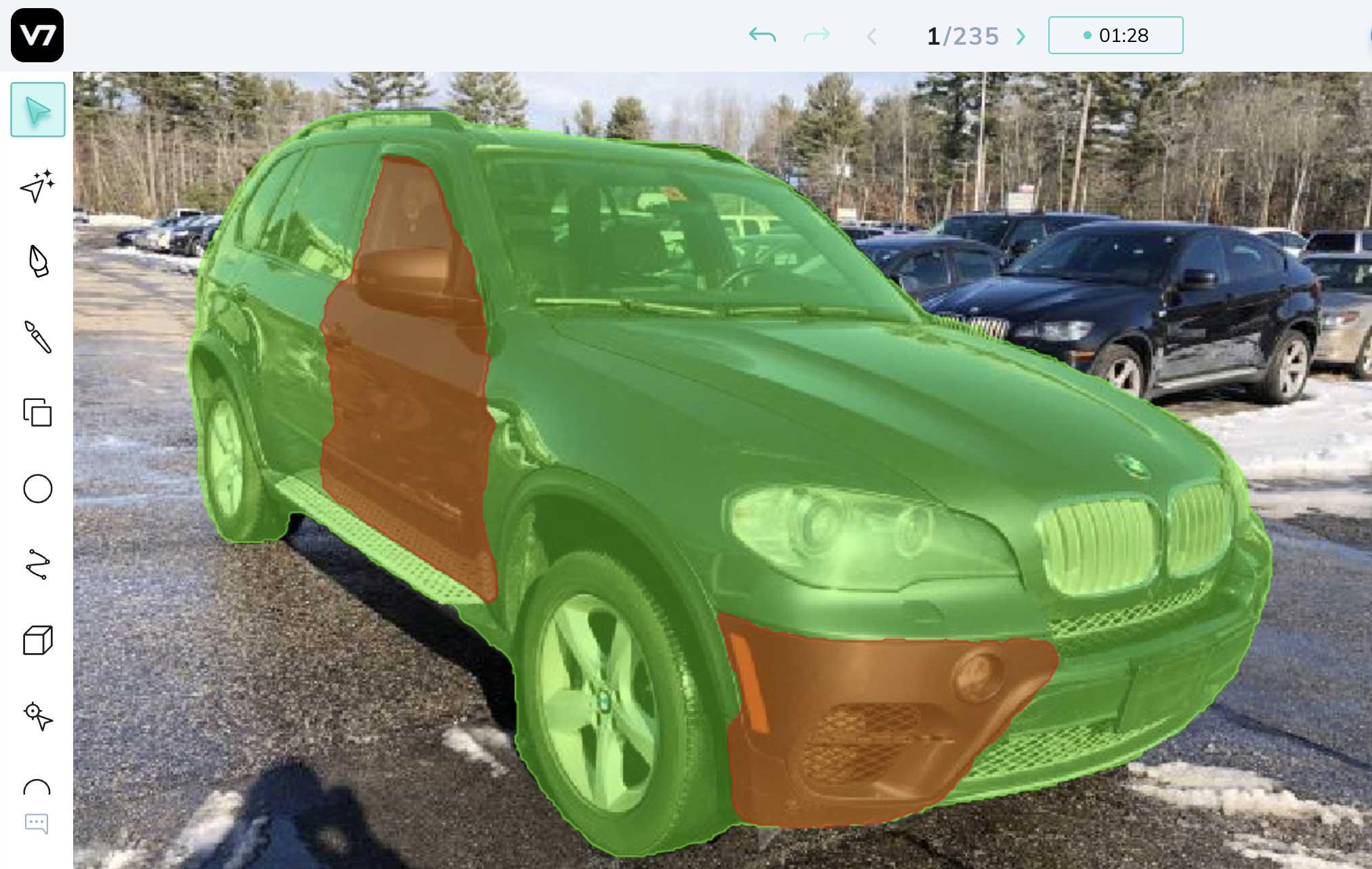 Car insurance damage detection AI