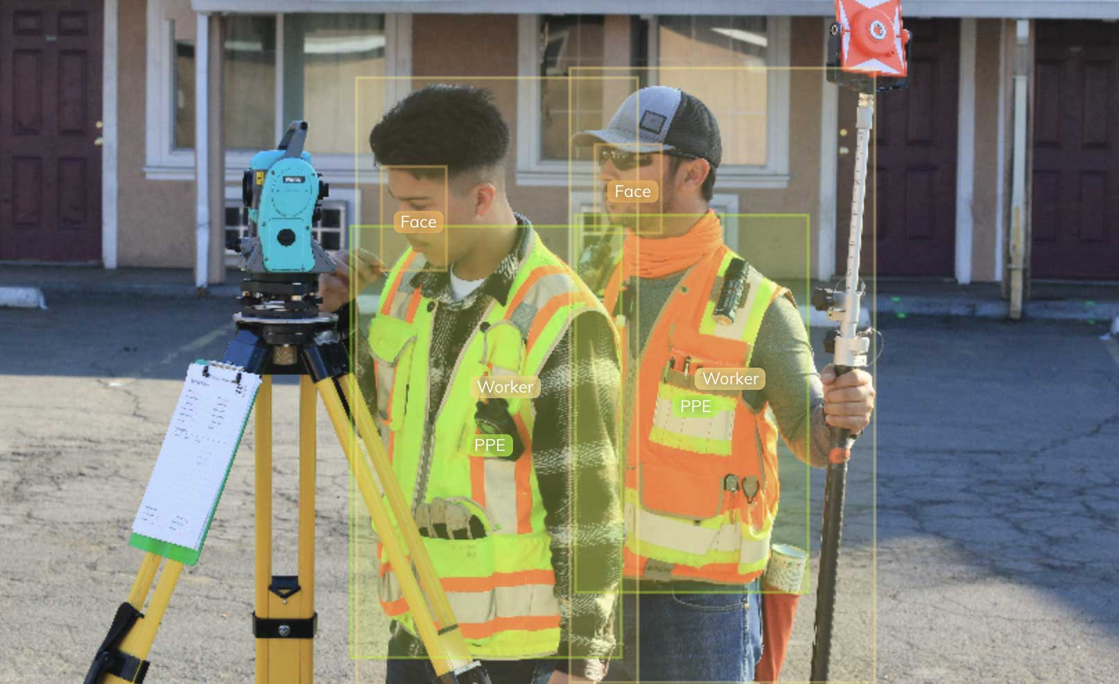 worker ppe detection in computer vision