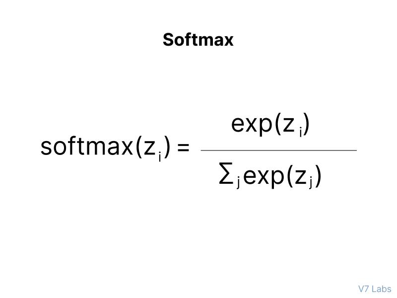 Softmax Function