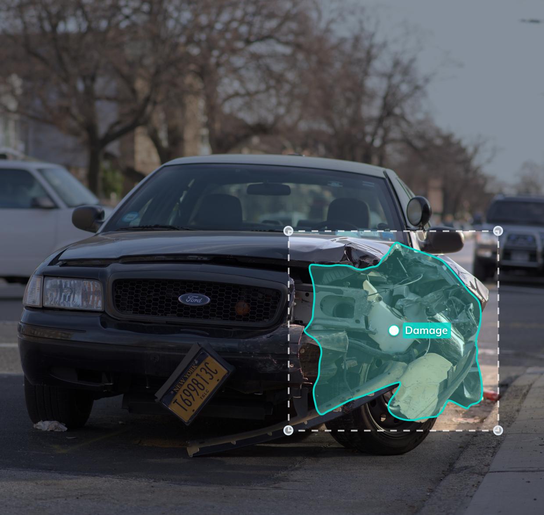 V7 car damage detection