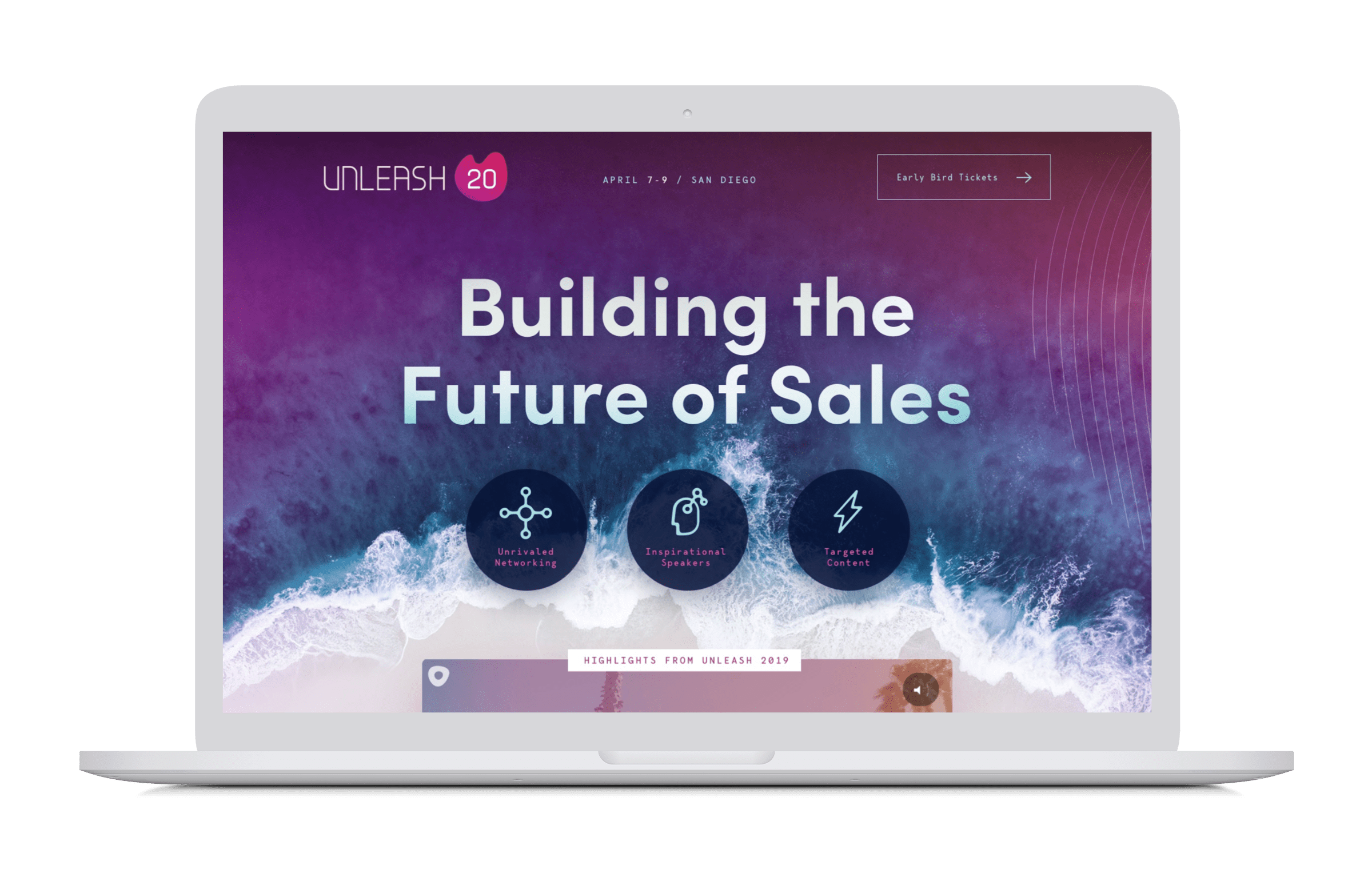 Outreach Unleash 2020 Website