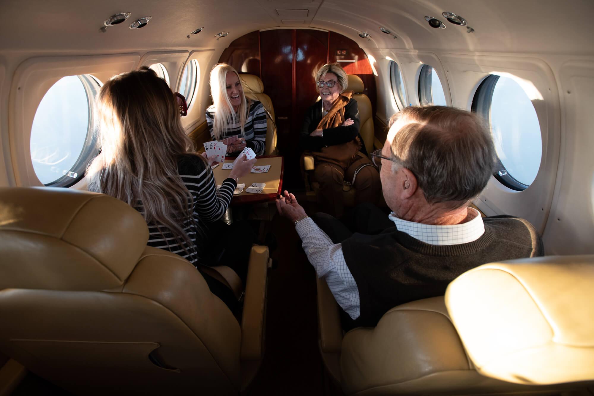 Comfortable Aircraft Cabin
