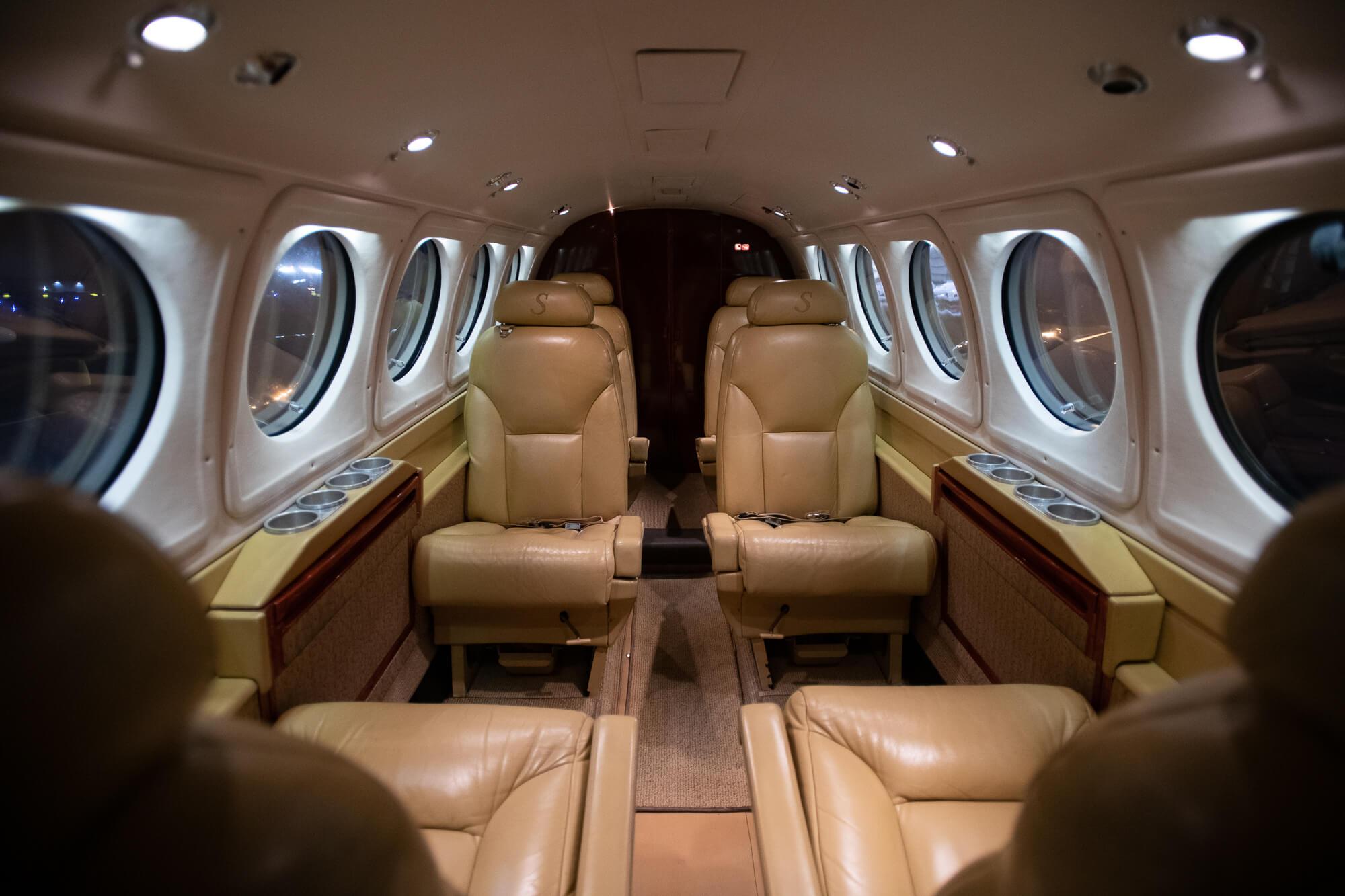 Beechcraft King Air Interior