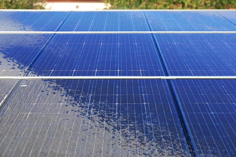 Professional solar panel cleaning, Tucson, AZ