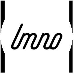 LMNO Logo on a white background