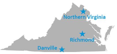 Virginia State Map