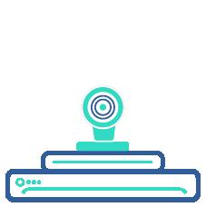 Икона на конферентно оборудване