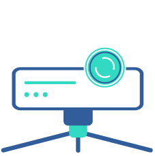 Icon of video equipment