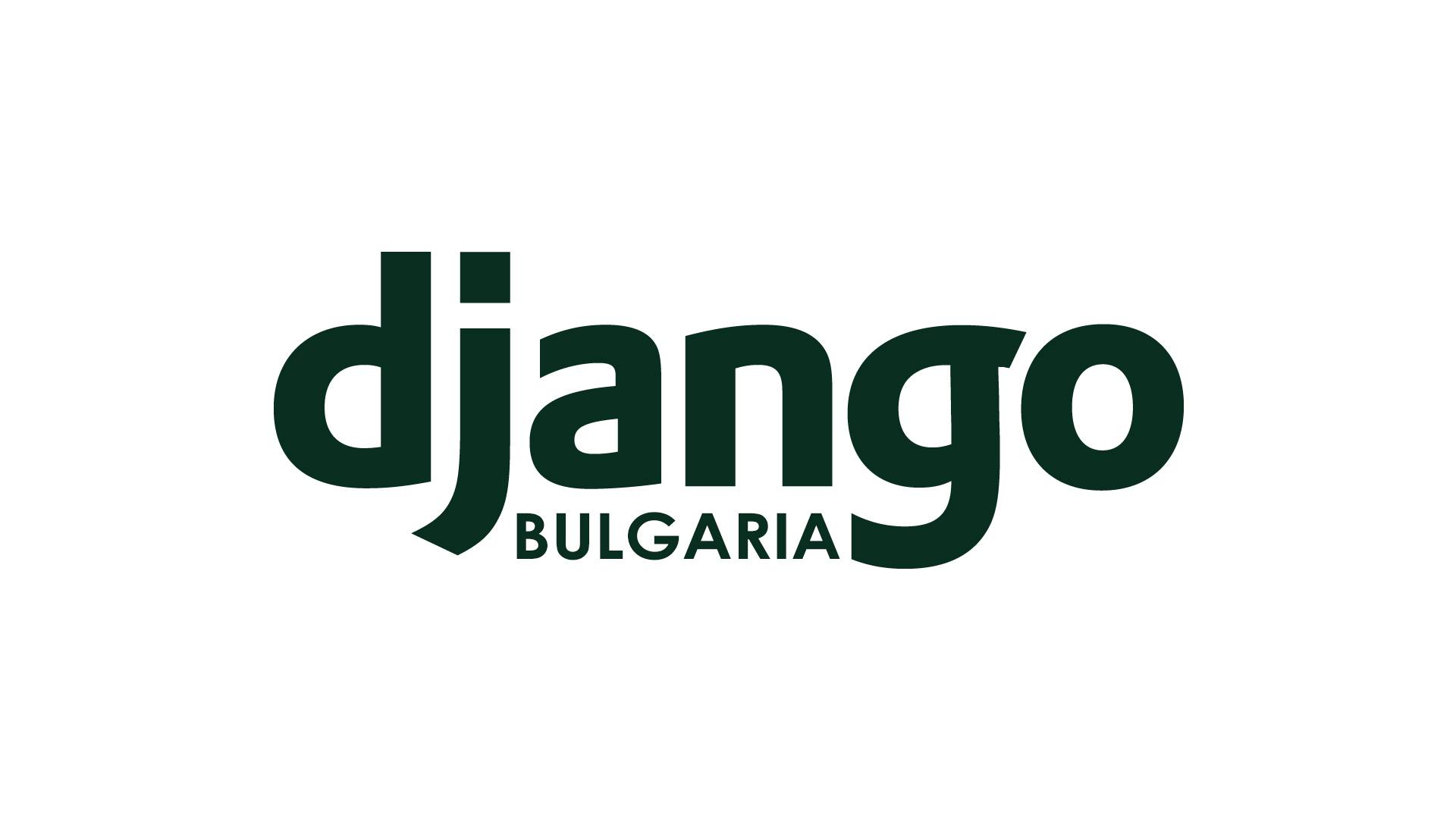 Logo of Django Bulgaria
