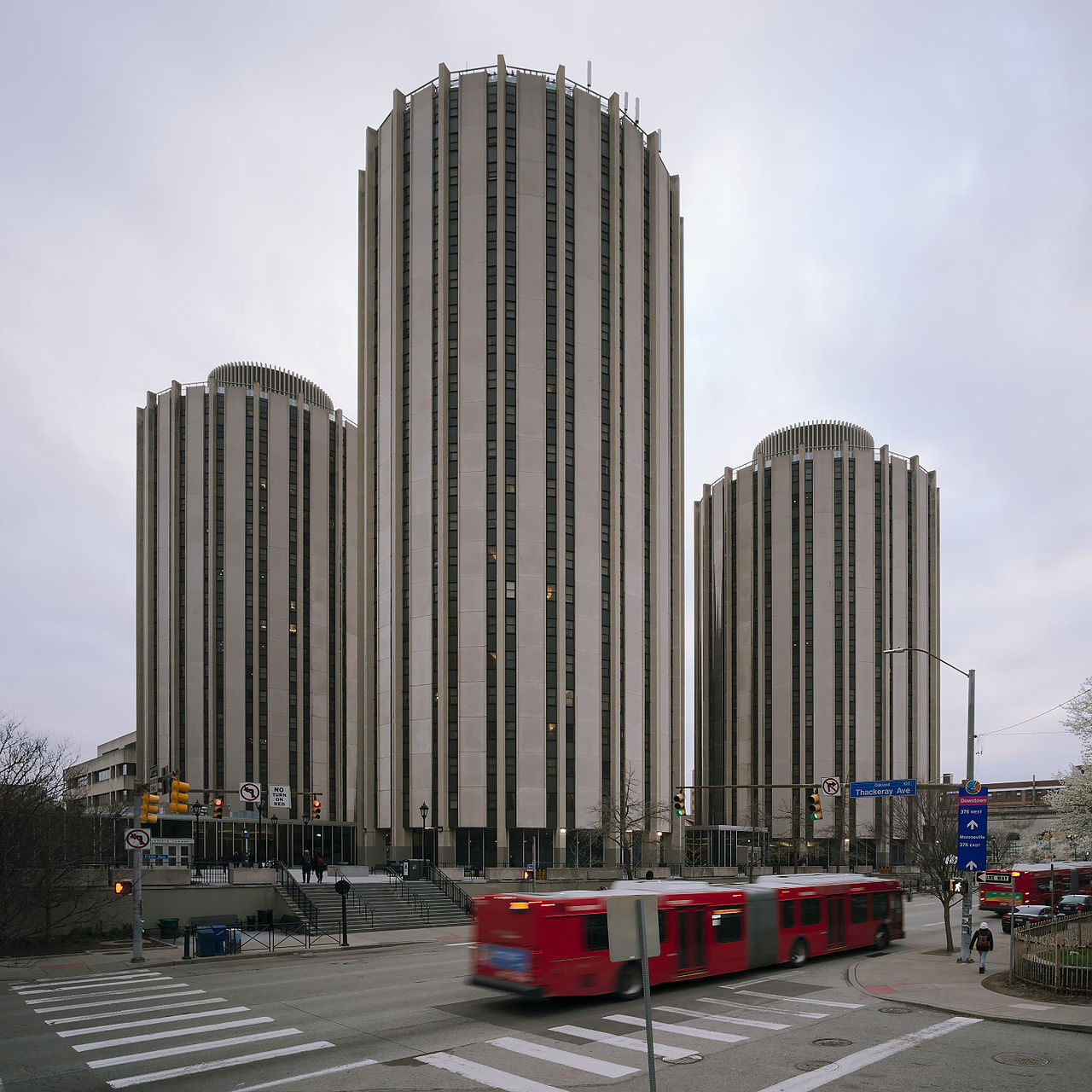 Litchfield Towers designed by Deeter and Richtey, 1963
