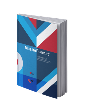 MasterFormat Specifications
