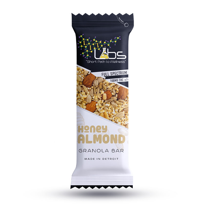 Lit Labs Honey Almond Granola Cannabis Edibles