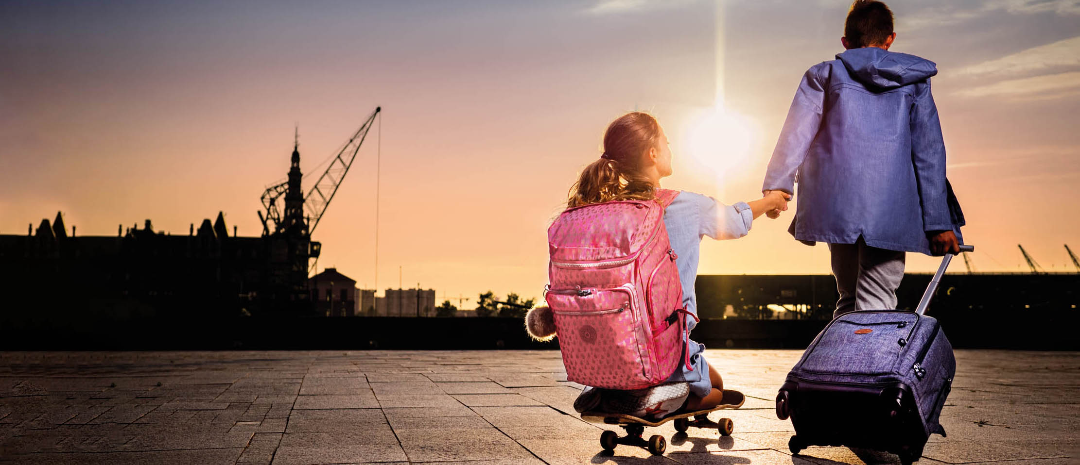 Kipling Back to School Reclamefotografie