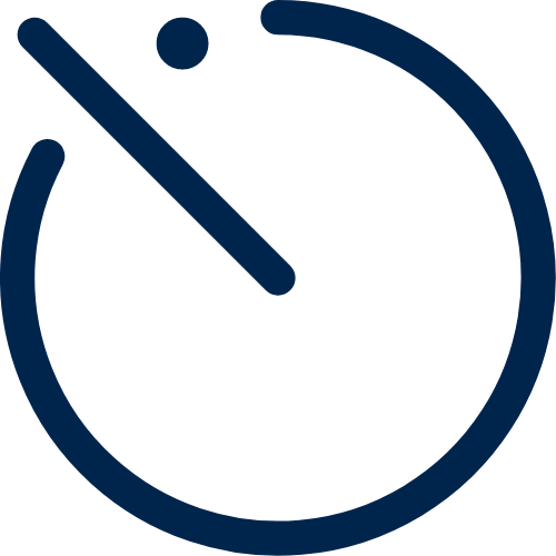 Clock illustration - save time with Birdie
