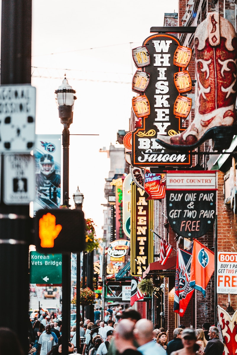 A photo of historic Nashville