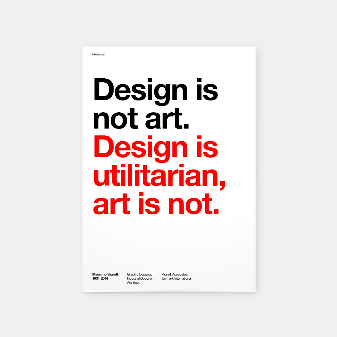 Massimo Vignelli Best Quotes By Chris Do