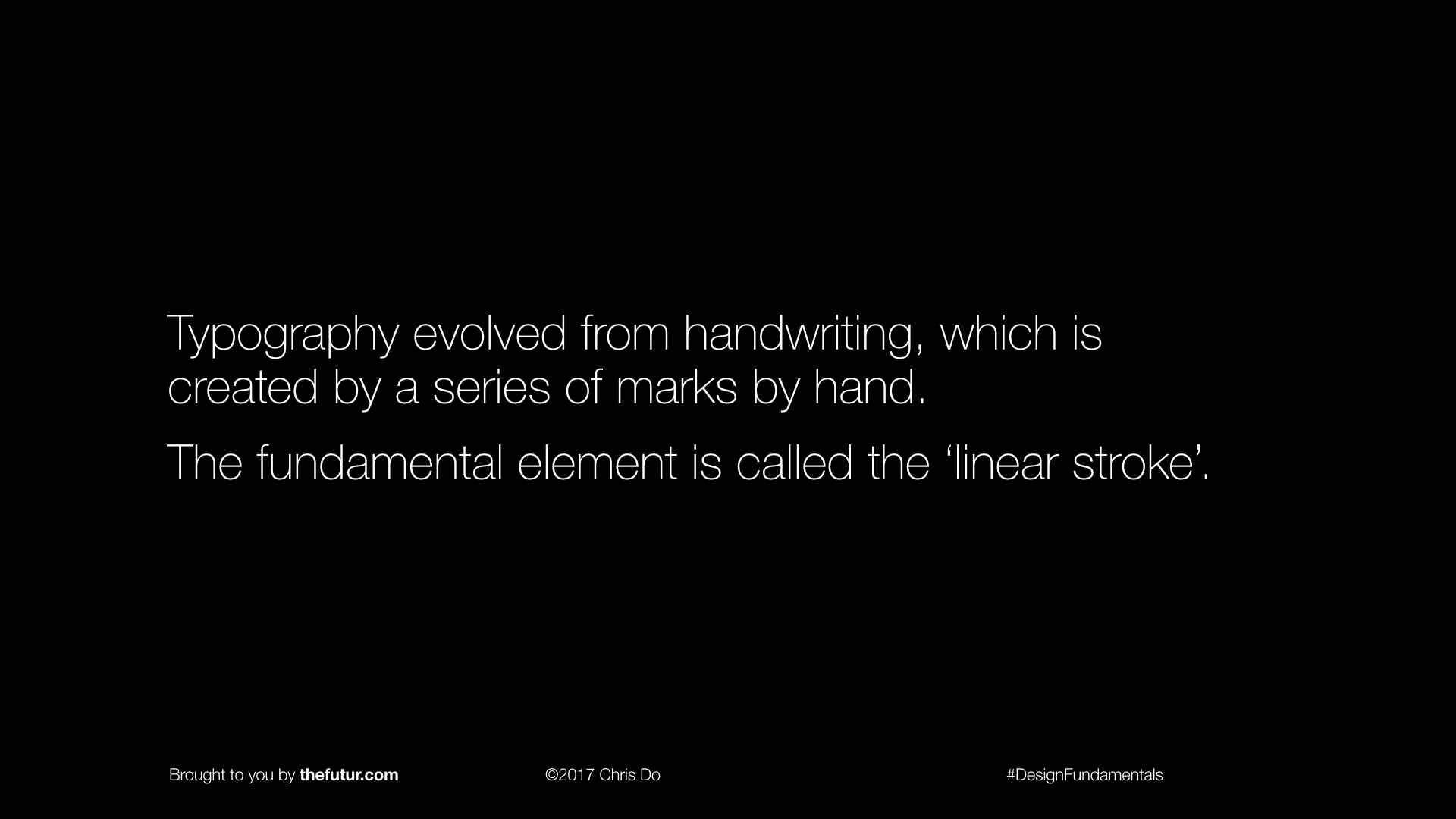 Learn Typography - Slide Preview