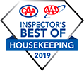 Inspectors Best of Housekeeping Logo