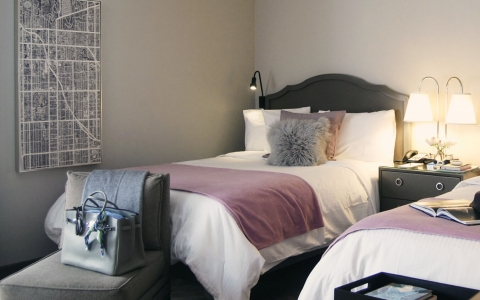 Hollywood Hotel double bed room