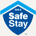 AHLA Safe Stay Logo