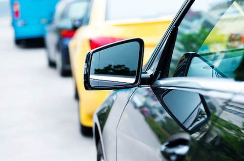 cars side view mirrors