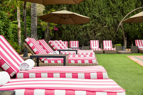 Hollywood Hotel Swimming Pool with HR Chaise Lounge and ADA Chair Lift
