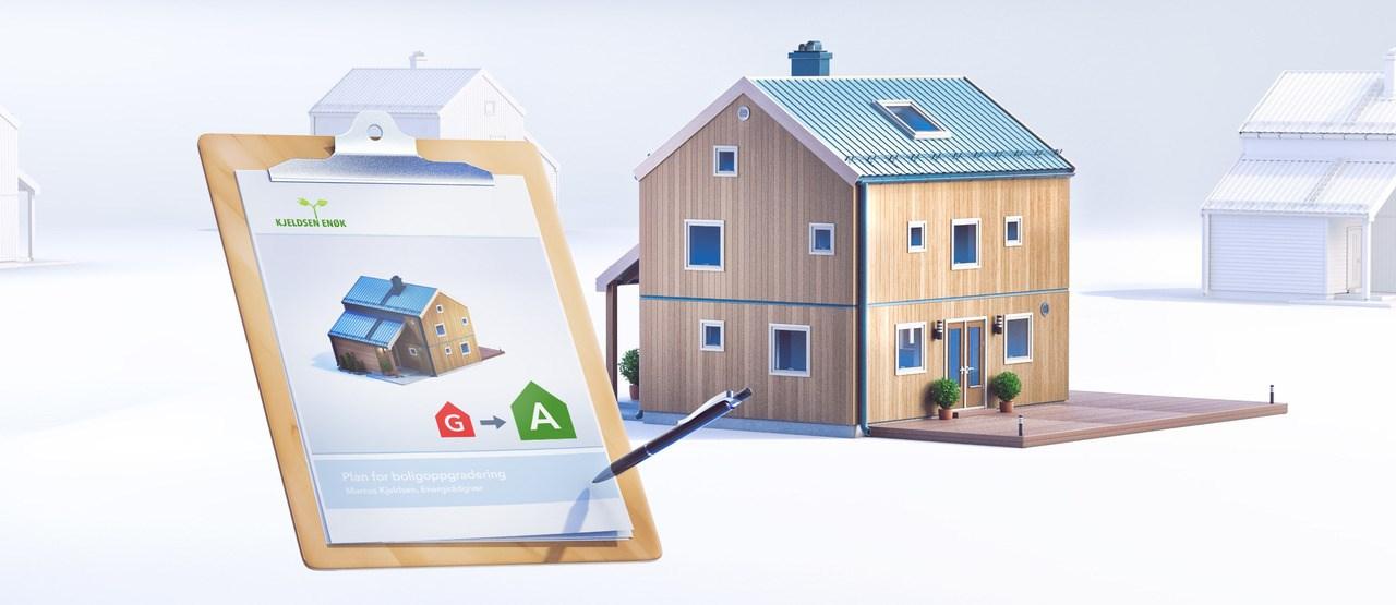 Visste du at Enova kan gi opptil 25 % støtte til privatpersoner som vil investere i energitiltak i sine helårs- og fritidsboliger?
